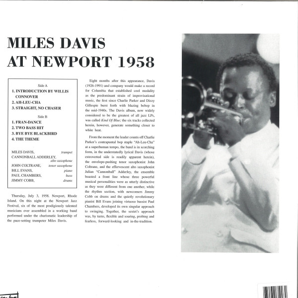 Miles Davis - At Newport 1958 (Back)