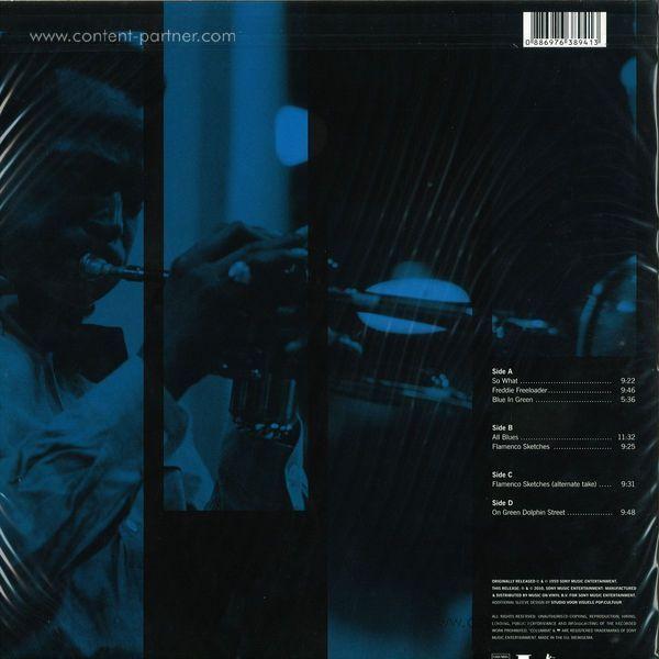 Miles Davis - Kind of Blue (2LP RM + 2 Bonus Tracks) (Back)