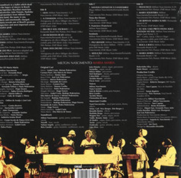 Milton Nascimento - Maria Maria (1974) (180g 2LP) (Back)