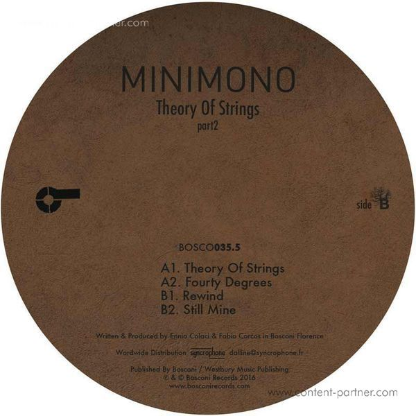 Minimono - Theory Of Strings (part2) (Back)