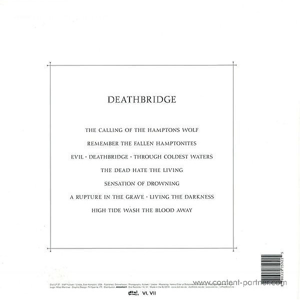 Misanthrope CA - Deathbridge (Back)
