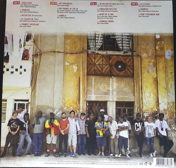 Mista Savona Pres. Various Artists - Havana Meets Kingston (150g 2LP, Gatefold) (Back)