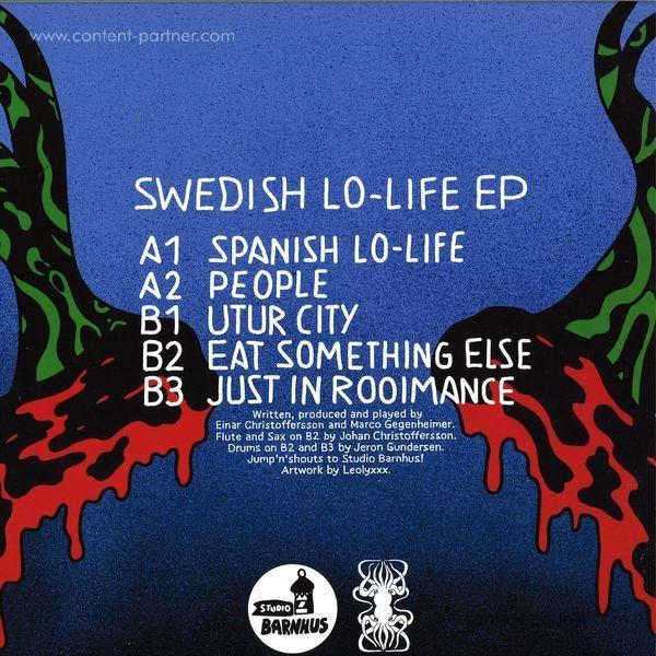 Mlir - Swedish Lo-life EP (Back)