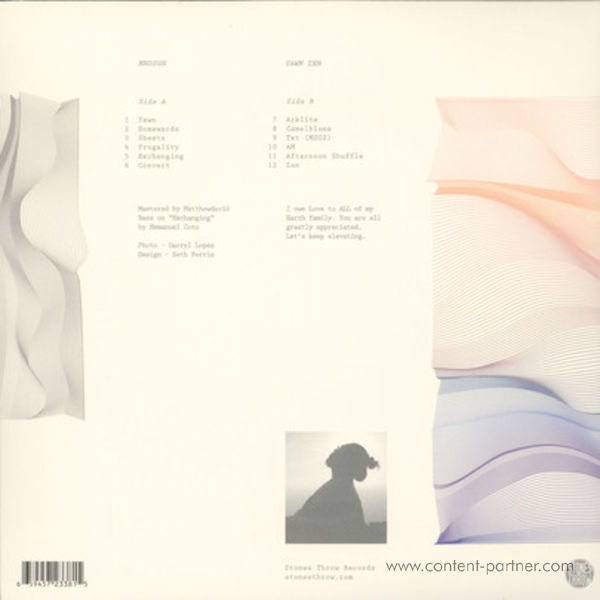Mndsgn - Yawn Zen (Back)