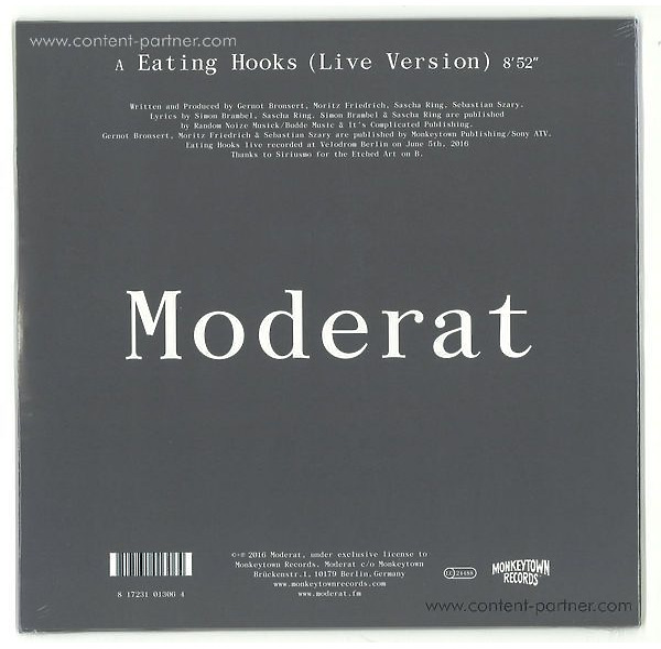 Moderat - Eating Hooks (Live) (Back)