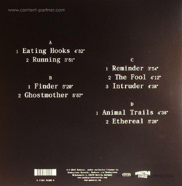 Moderat - III (2LP+MP3 / Gatefold) (Back)