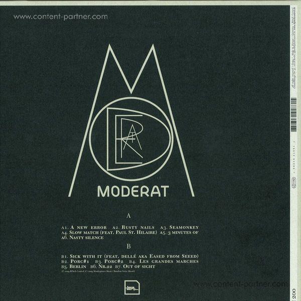 Moderat - Moderat (LP) (Back)