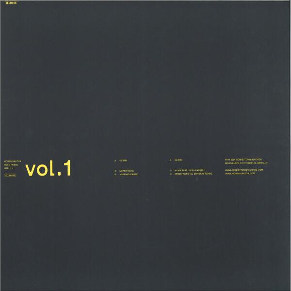 """Modeselektor - Mean Friend Vol.1 (Ltd. 12"""") (Back)"""