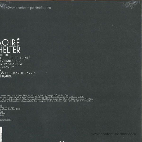 Moire - Shelter (LP + Mp3) (Back)