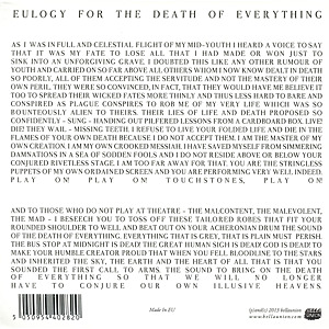 Money - The Shadow Of Heaven (Back)