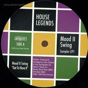 Mood II Swing - House Legends (Sampler One)