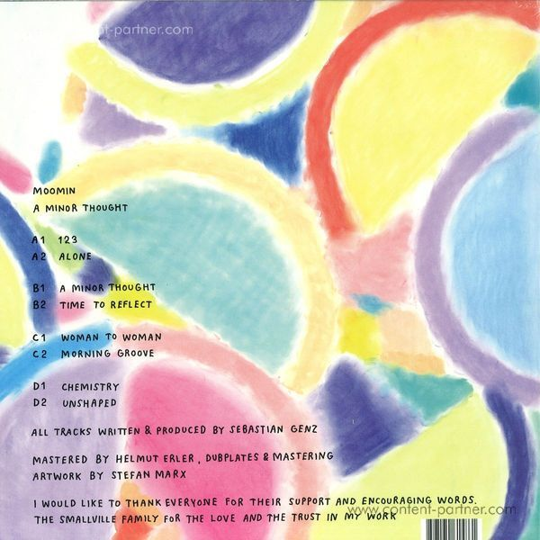 Moomin - A Minor Thought (2LP) (Back)