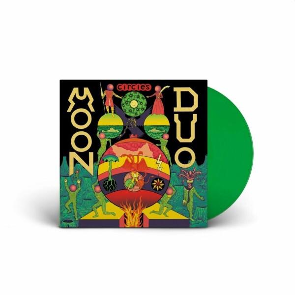 Moon Duo - Circles (Green Vinyl LP)