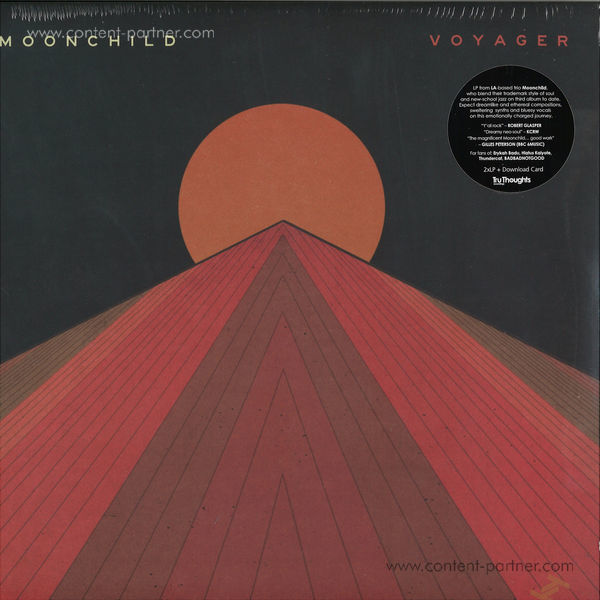 Moonchild - Voyager (Ltd. Sunset Red 2LP Gatefold)