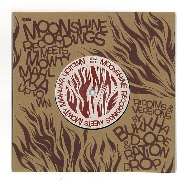 Moonshine Recordings Meets [2x7inch] - Mowty Mahlyka Uptown ft Bukkha & D-Operation Drop