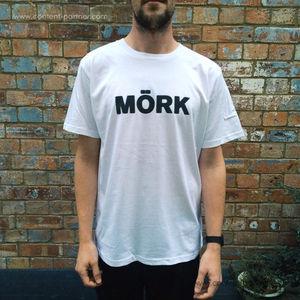 Mork Logo Tee - Mork Logo T-Shirt White (Size M)