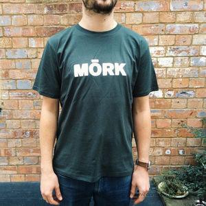 Mork Logo Tee - Mork T-Shirt Grey (Size L)