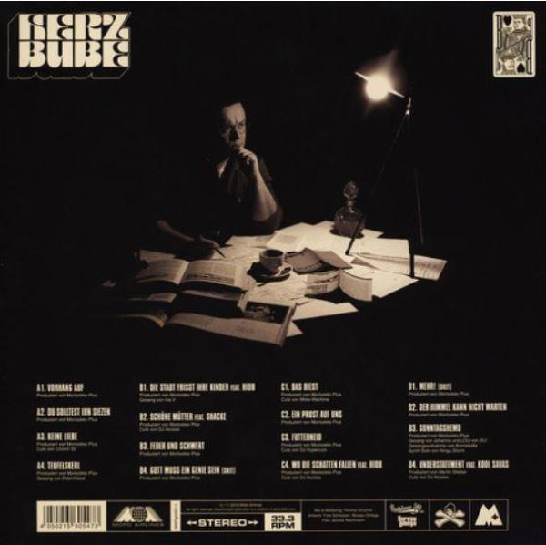 Morlockk Dilemma - Herzbube (2LP) (Back)