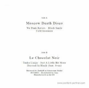Moscow Death Disco / Le Chocolat Noir - Untitled EP