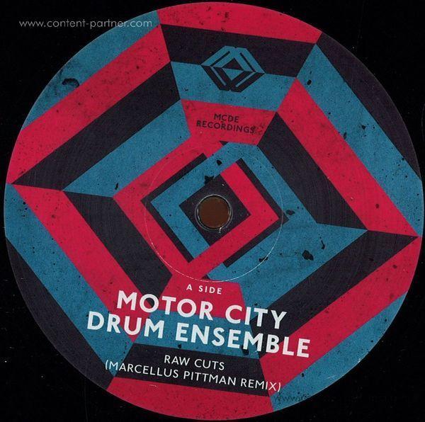 Motor City Drum Ensemble - Raw Cuts Remixes
