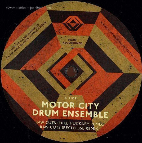 Motor City Drum Ensemble - Raw Cuts Remixes (Back)