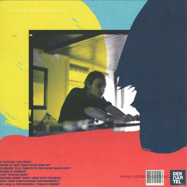 Motor City Drum Ensemble - Selectors 001 LP (Back)