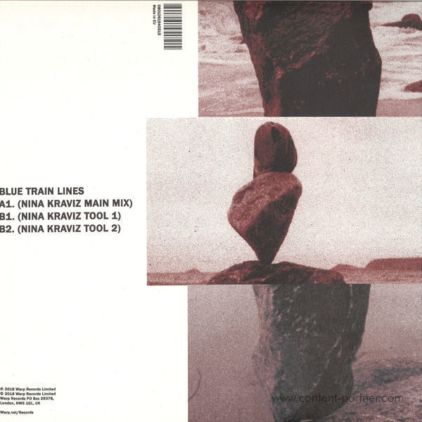 Mount Kimbie - Love What Survives - Remixes Part 1 (12''+MP3) (Back)