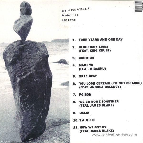 Mount Kimbie - Love What Survives (Ltd. White 2LP/Gatefold) (Back)
