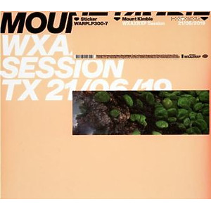 "Mount Kimbie - WXAXRXP Session (12""+MP3)"
