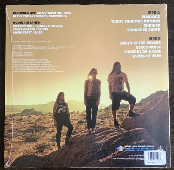 Mountain Tamer - Live In the Mojave Desert Vol. 5 (Ltd. Neon Pink) (Back)