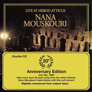 Mouskouri,Nana - Live At Herod Atticus/20th Anniversary E