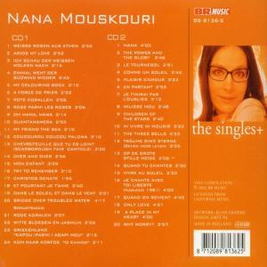 Mouskouri,Nana - The Singles/+ (Back)
