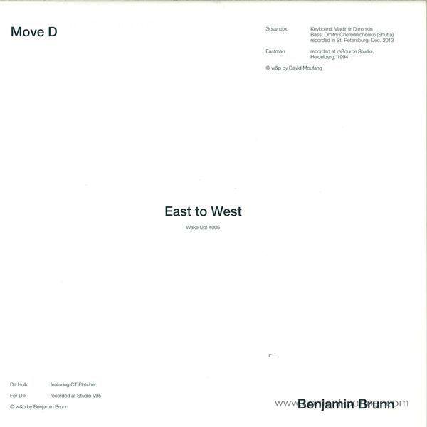 Move D / Benjamin Brunn - East To West (Back)