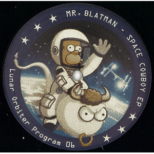 Mr. Blatman - Space Cowboy EP