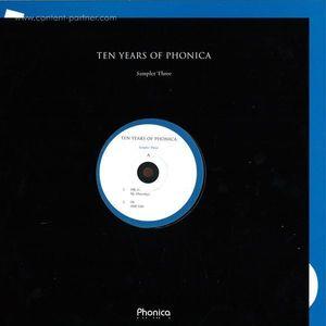 Mr. G / Oi / Lady Blacktronika / Dj Kao - Ten Years Of Phonica Sampler 3
