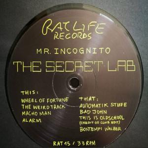 Mr. Incognito - The Secret Lab