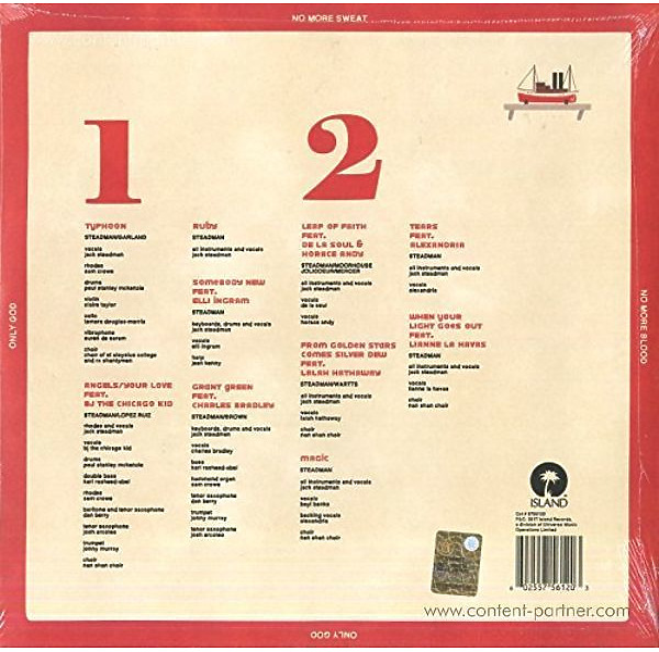 Mr Jukes - God First (LP) (Back)