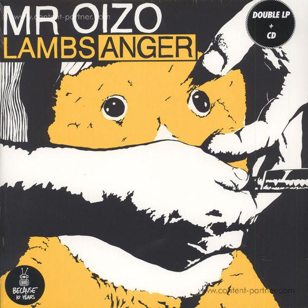 Mr. Oizo - Lambs Anger (2LP Gatefold + CD)