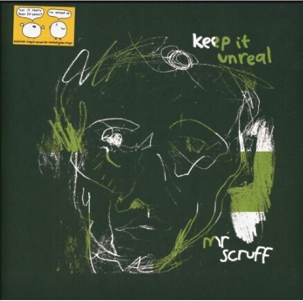 Mr. Scruff - Keep It Unreal (20th Anniversary Green 2LP+Poster)