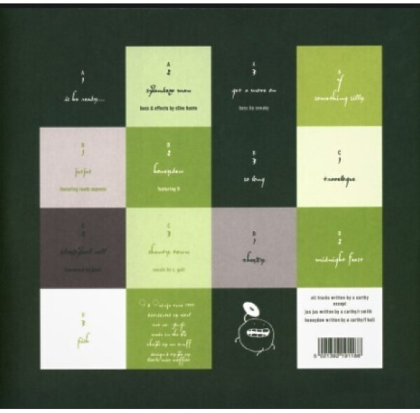 Mr. Scruff - Keep It Unreal (20th Anniversary Green 2LP+Poster) (Back)