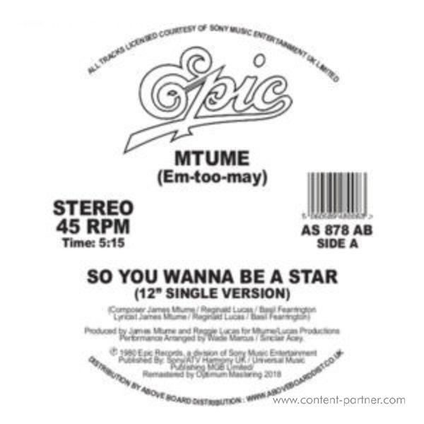 Mtume - So You Wanna Be A Star (Danny Krivit)