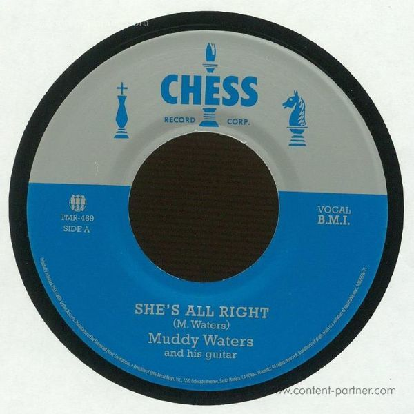 Muddy Waters - She's All Right/Sad, Sad Day