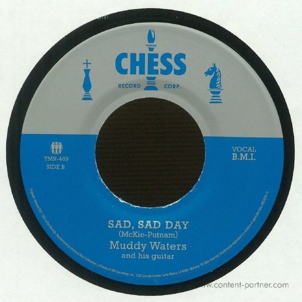 Muddy Waters - She's All Right/Sad, Sad Day (Back)