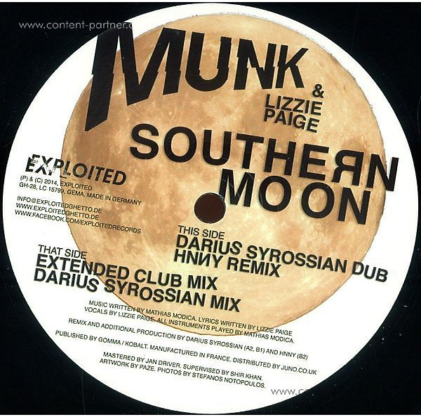 Munk / Lizzie Paige - Southern Moon (Back)