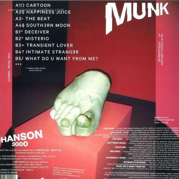 Munk - Chanson 3000 (Back)