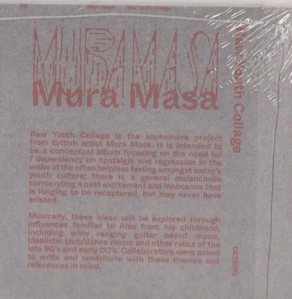 Mura Masa - R.Y.C (Red Vinyl LP) (Back)