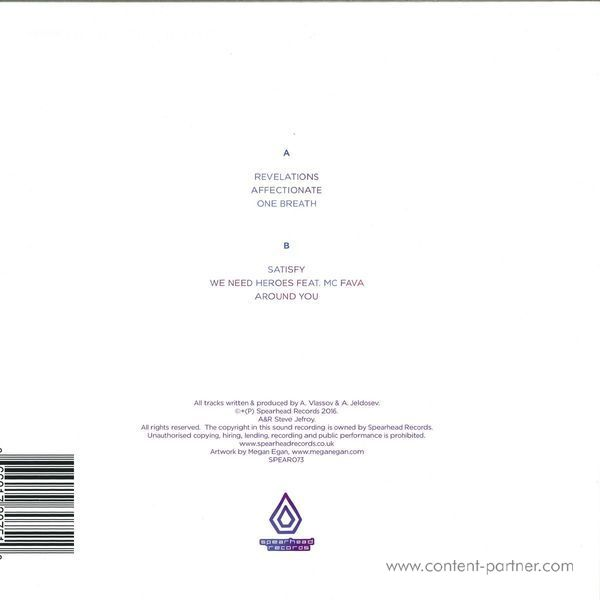 Mutated Forms - Holograms (Back)