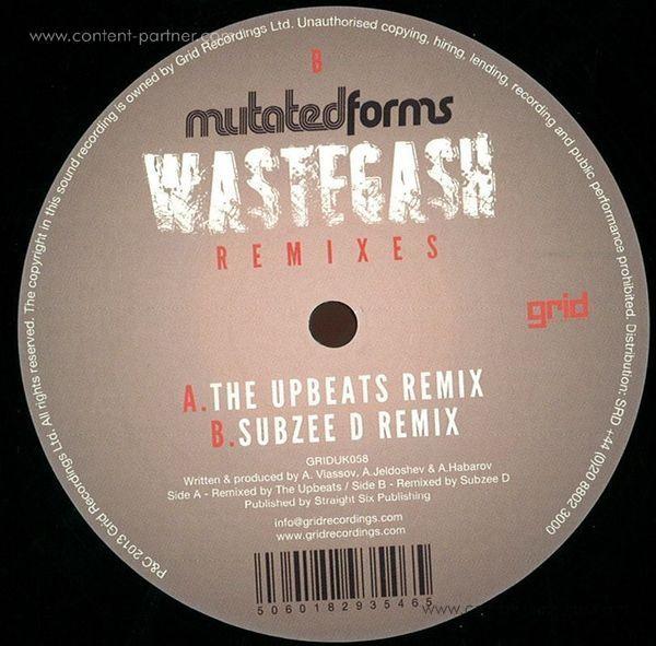 Mutated Forms - Wastegash - Remixes (Back)