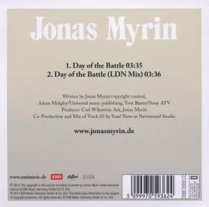 Myrin,Jonas - Day Of The Battle (Back)