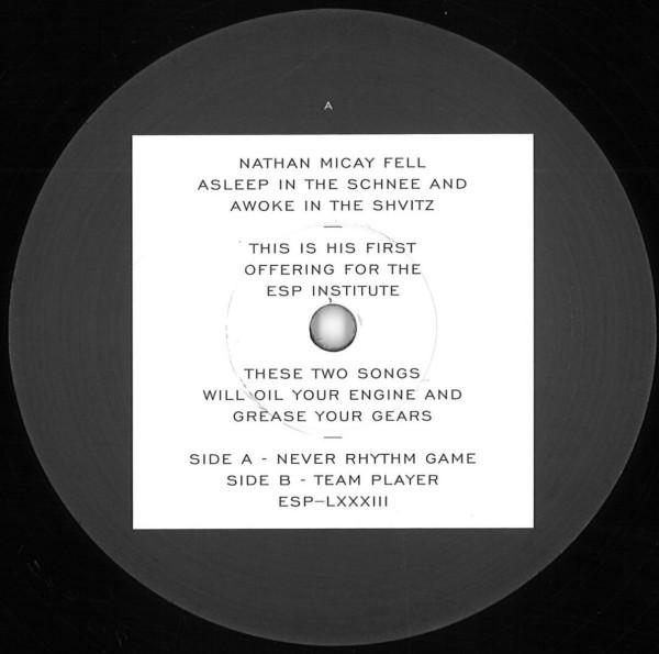 NATHAN MICAY - NEVER RHYTHM GAME B/W TEAM PLAYER